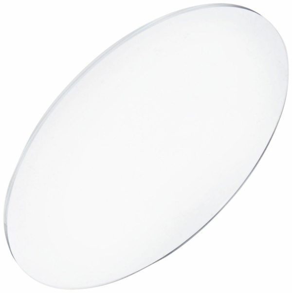 "Round Clear Acrylic Cake Board / Disc 17"" Dia 10mm Thick"